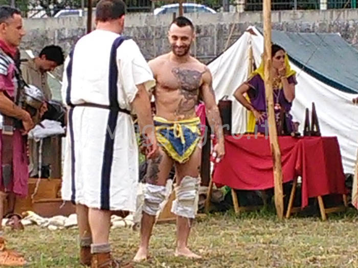 gladiatore e arbitro