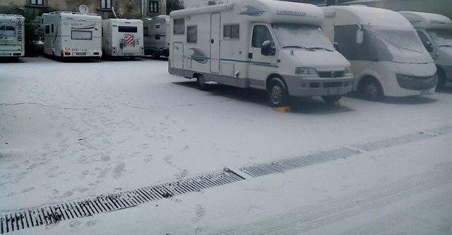 area sosta neve