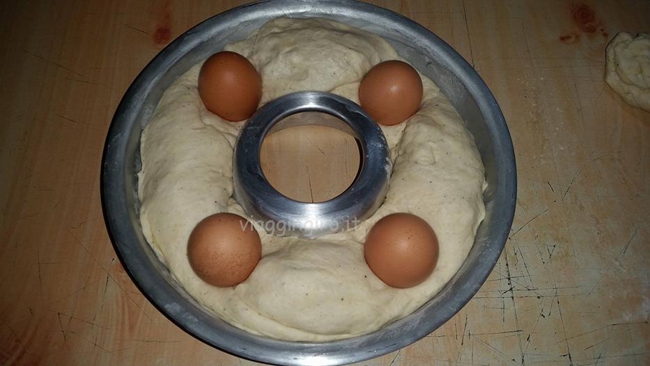 con le uova