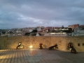 terrazzo e cannoni
