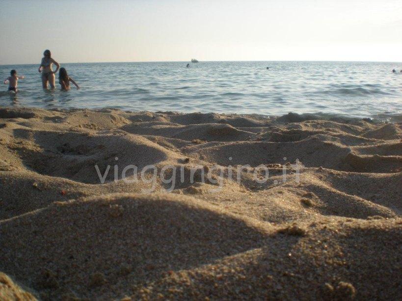 la spiaggia della sosta