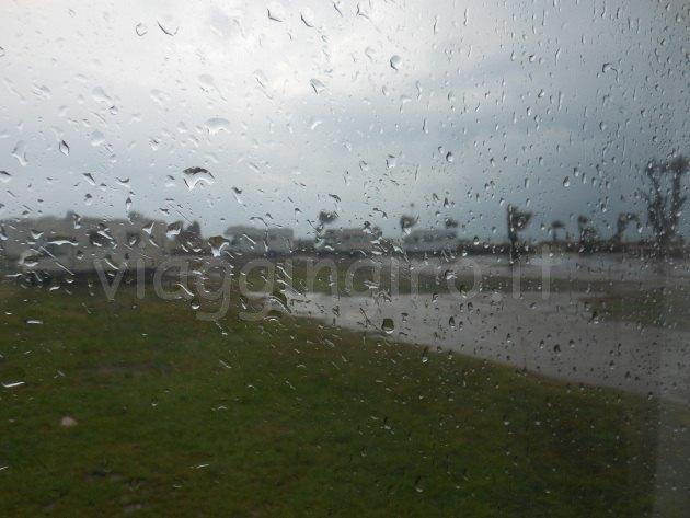 pioggia in area