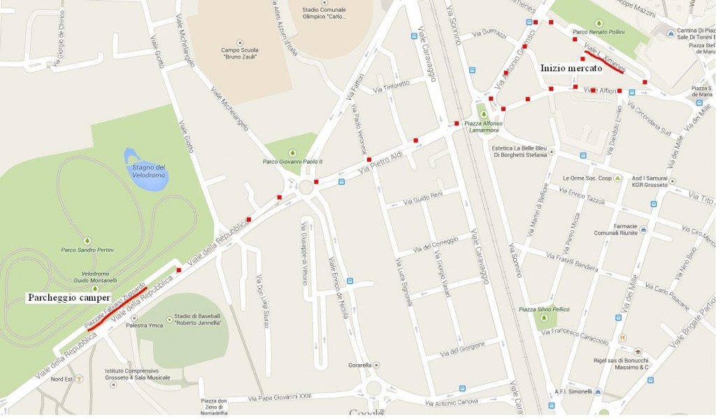 mappa mercato
