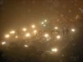 neve nella nebbia