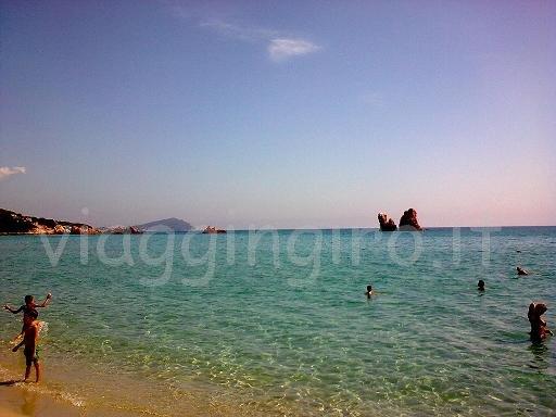 la spiaggia di baia cea