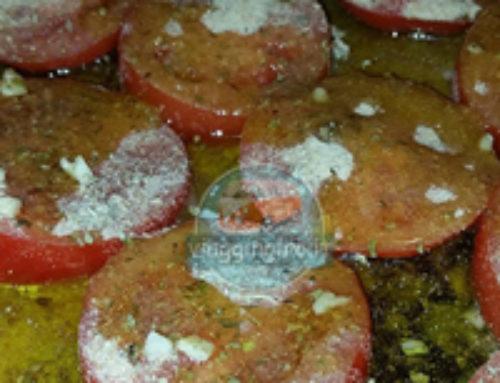 Pomodori saporiti in padella