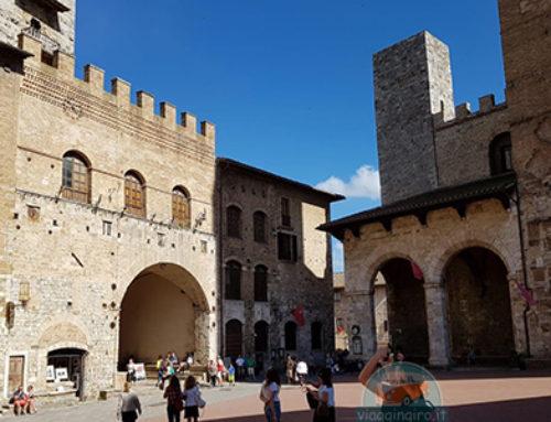 San Gimignano, tra torri e colline